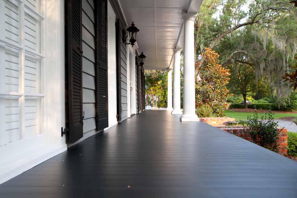 Pine Porch Flooring